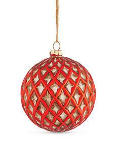 Napa Home & Garden™ 4.5-in. H Vintage Glass Ball Ornament