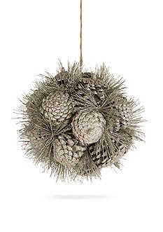 Napa Home & Garden™ 12-in. Pine Cone Orb Ornament