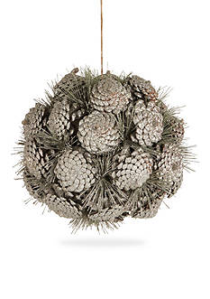 Napa Home & Garden™ 12-in. Orb Pine Cone Ornament