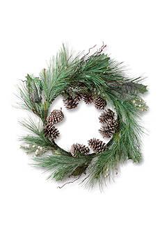 Napa Home & Garden™ 30-in. Winter Green Wreath