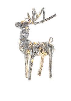 Napa Home & Garden™ 20-in. Lighted Grapevine Reindeer