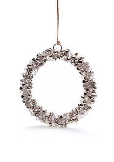 Napa Home & Garden™ 6-in. Jingle Bell Crystal Wreath Ornament