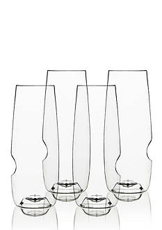 Govino Shatterproof 8-oz. Flute Glass Set of 4