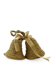 Shea's Wildflower Company 11-in. Natural Jute Christmas Bells