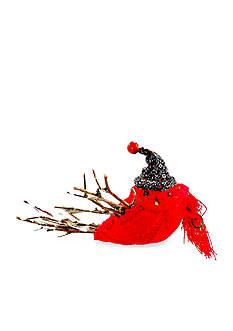 Shea's Wildflower Company 7-in. Christmas Bird