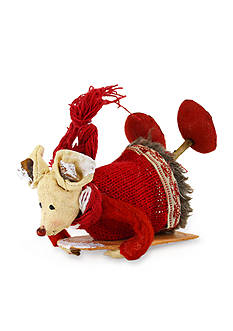 Shea's Wildflower Company 6-in. Cotton Mouse on Sled