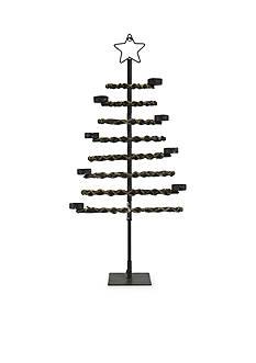 Shea's Wildflower Company 27-in. Tea Light Holder Christmas Tree