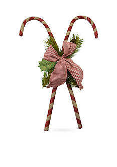 Shea's Wildflower Company 18-in. Hanging Candy Cane
