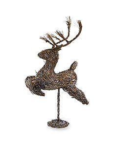 Shea's Wildflower Company 41-in. Pre-Lit Leaping Reindeer