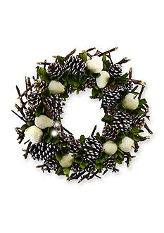 Shea's Wildflower Company 20-in. Apple and Pineapple Wreath