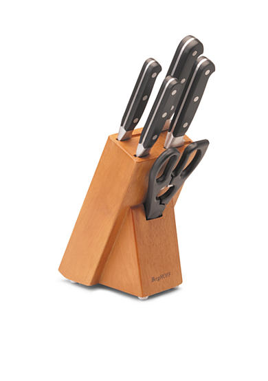 BergHOFF® Forged 6-Piece Knife Block Set