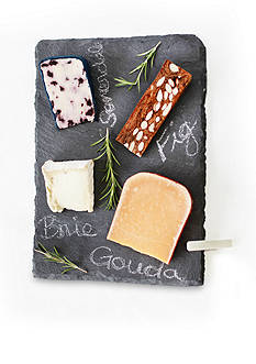 SPARQ Slate Cheese Board Set