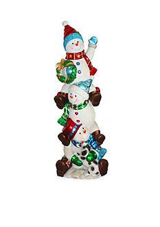 National Tree Company Stacking Snowmen