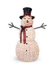 National Tree Company Crystal Snowman