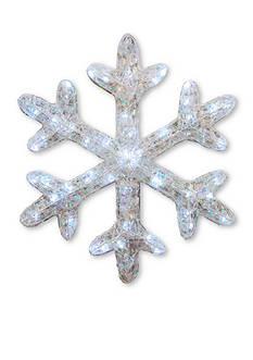 National Tree Company Ice Acrylic Star With LED Lights