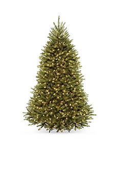 National Tree Company Dunhill Fir Hinged Tree With LED Lights