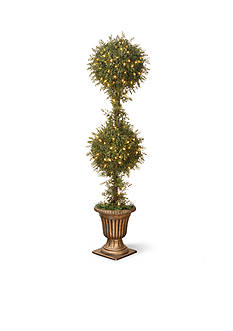 National Tree Company Upright Juniper with Green Pot