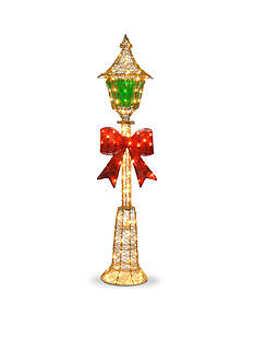 National Tree Company 5-ft. Gold Wire Lamp Post