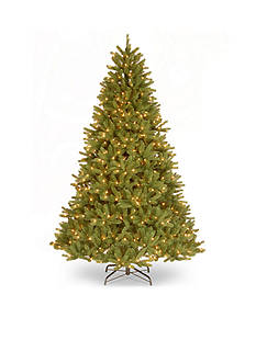 National Tree Company 7.5-ft. Grande Fir Medium Hinged Tree