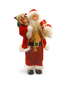 National Tree Company Standing Santa