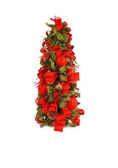 National Tree Company Christmas Tree With Burlap