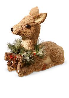 National Tree Company Sitting Brown Deer