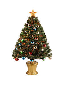 National Tree Company 36-in. Fireworks Fiber Optic Tree
