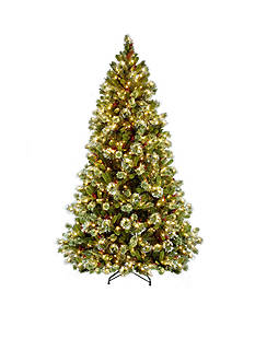 National Tree Company 7.5-ft. Wintery Pine Medium Hinged Tree