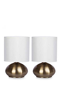 CATALINA LIGHTING Caden Touch Accent Lamp Set
