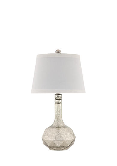 CATALINA LIGHTING Faceted Mercury Glass Table Lamp