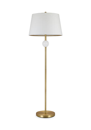 cupcakes and cashmere™ Stacked Ball Milk Glass Floor Lamp