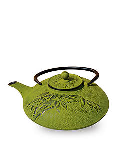 Old Dutch International, Ltd. Moss Green Cast Iron Positivity Teapot