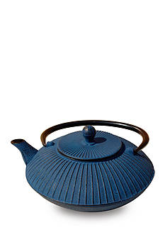 Old Dutch International, Ltd. Blue Cast Iron Fidelity Teapot