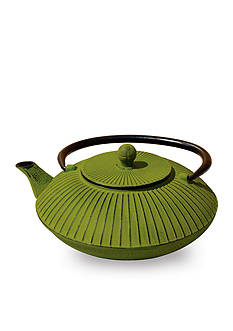 Old Dutch International, Ltd. Moss Green Unity Cast Iron Fidelity Teapot
