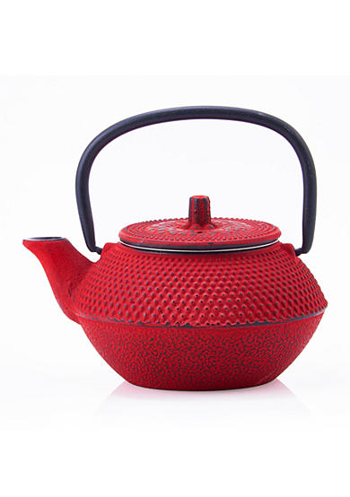 Old Dutch International, Ltd. Unity Red Cast Iron Tokyo Teapot
