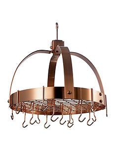 Old Dutch International, Ltd. Dome Hanging Pot Rack with Grid & 16 Hooks