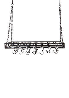Old Dutch International, Ltd. Rectangular Pot Rack with 16 Hooks