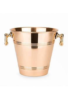 Old Dutch International, Ltd. Solid Copper Wine Cooler w/Brass Handles