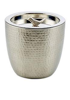 Old Dutch International, Ltd. Churp Hammered Double Walled Stainless Steel Ice Bucket w/Bird Knob