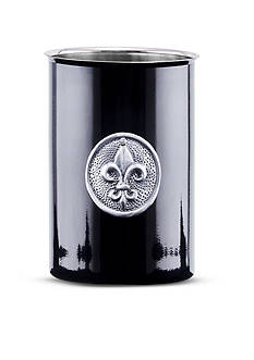 Old Dutch International, Ltd. Black Fleur De Lis Tool Caddy