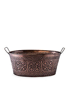 Old Dutch International, Ltd. Antique Copper Party Tub