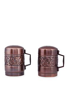 Old Dutch International, Ltd. Antique Embossed Heritage Stovetop Salt and Pepper Shakers