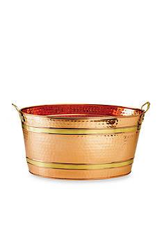 Old Dutch International, Ltd. Oval Decor Copper Party Tub, 11-gal.