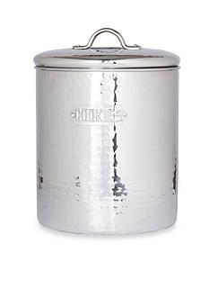Old Dutch International, Ltd. Stainless Steel Hammered Cookie Jar