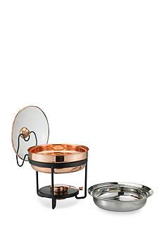 Old Dutch International, Ltd. Decor Copper Chafing Dish w/Glass Lid