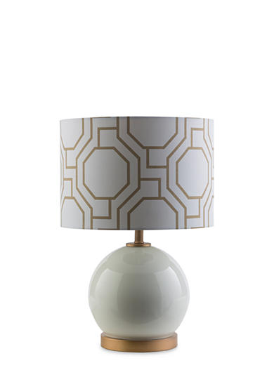 SURYA Bowen Table Lamp White