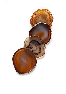Biltmore Artisan 4-Piece Agate Coasters