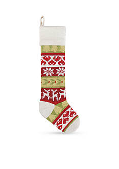 C&F 27.5-in. Deer Knit Stocking