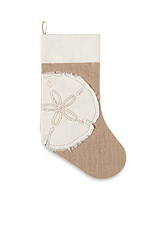 C&F 20-in. Merry Coastmas Sand Dollar Stocking