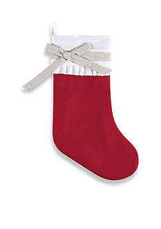 C&F 20-in. Linen Holiday Stocking
